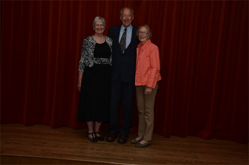 Photo of Bob, Dianne, and Aunt Evelynn