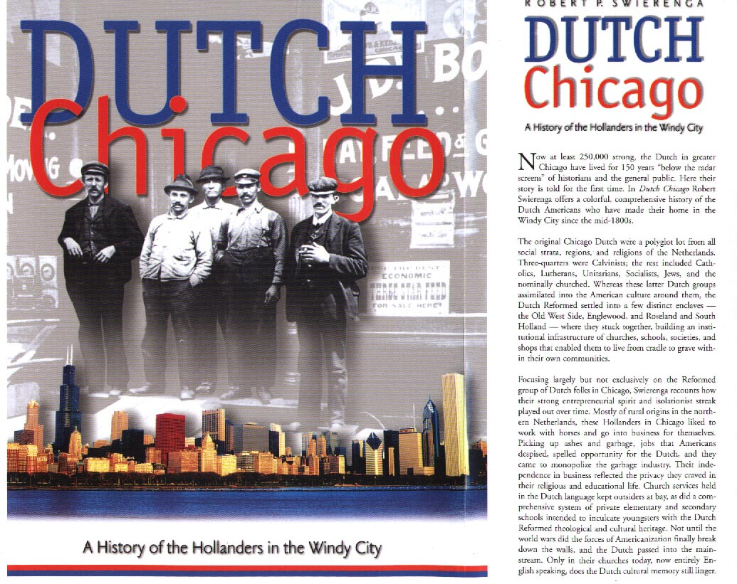 Dutch Chicago book cover - front