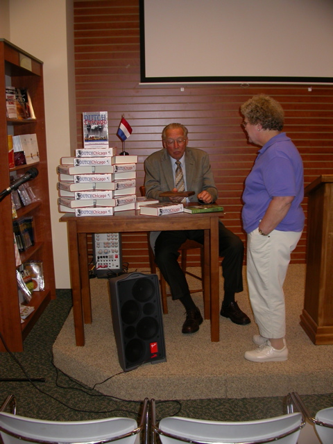 Bob's Old Wing Mission book signing event.